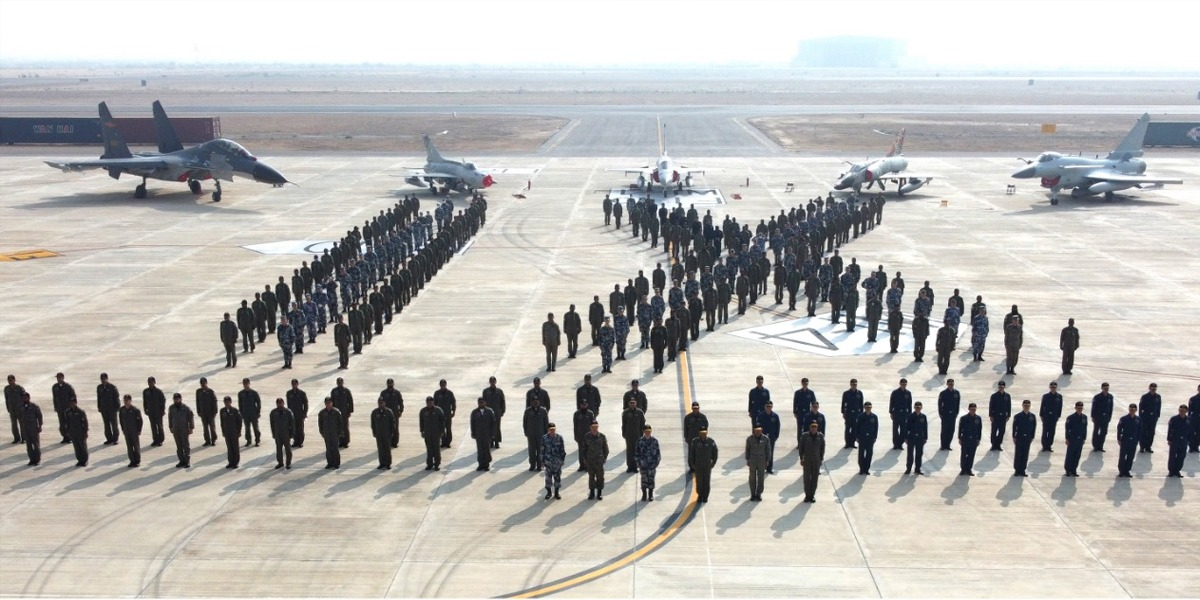 Pak-China joint Military air exercise