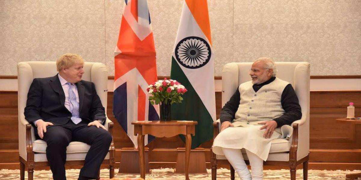 Boris Johnson India Visit