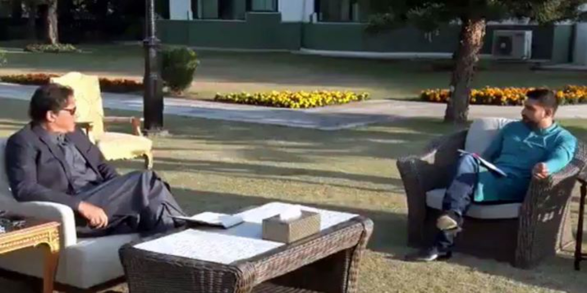 PM Imran meets Amir Khan