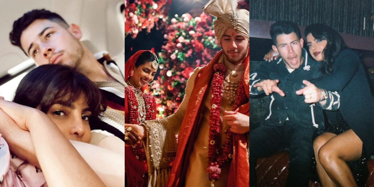 Priyanka Nick anniversary