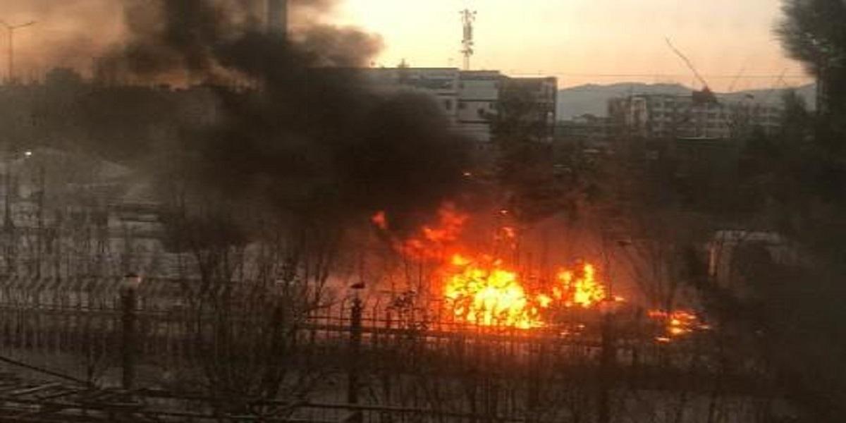 Rocket attacks Kabul