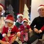 Sports Stars Celebrating Christmas