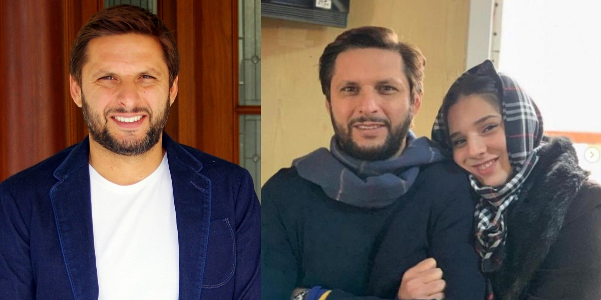 Shahid Afridi wishes daughter
