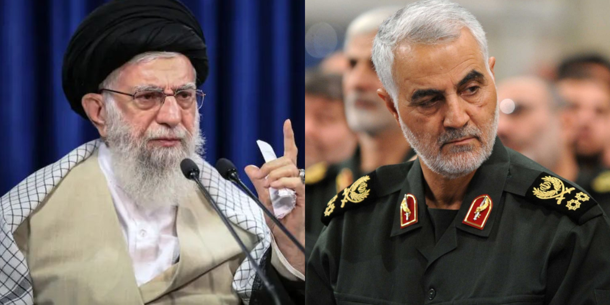 Ayatollah Khamenei General Qassem Soleimani