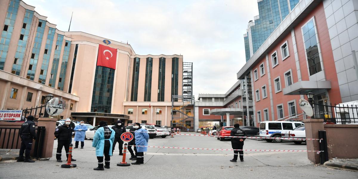 Turkey Fire Eruption