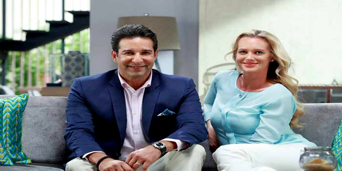Wasim Akram Gives Witty Reply To Shaniera On Throwback Photo