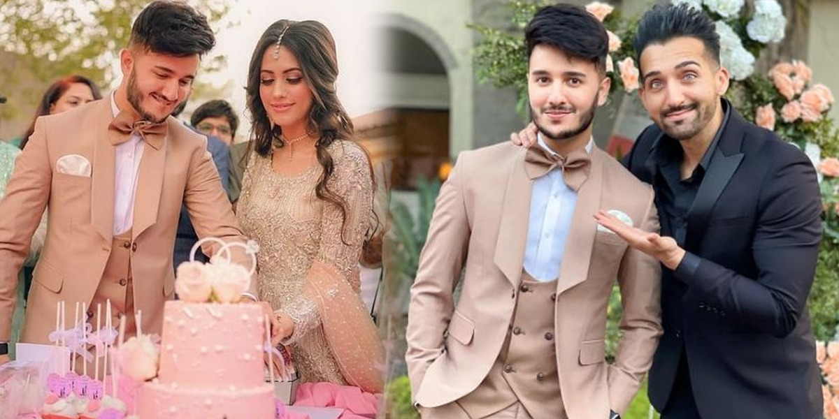 Shahveer Jafry Engaged Sham Idrees Is Much Happy For His Buddy