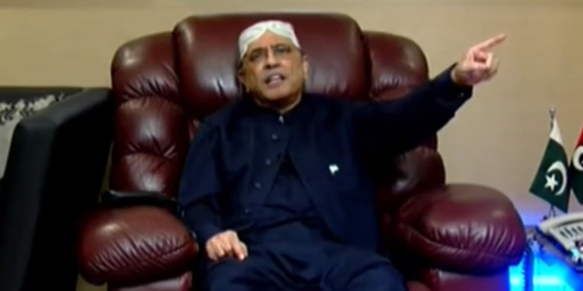 Asif Zardari Admits To Hospital After His Health Deteriorates