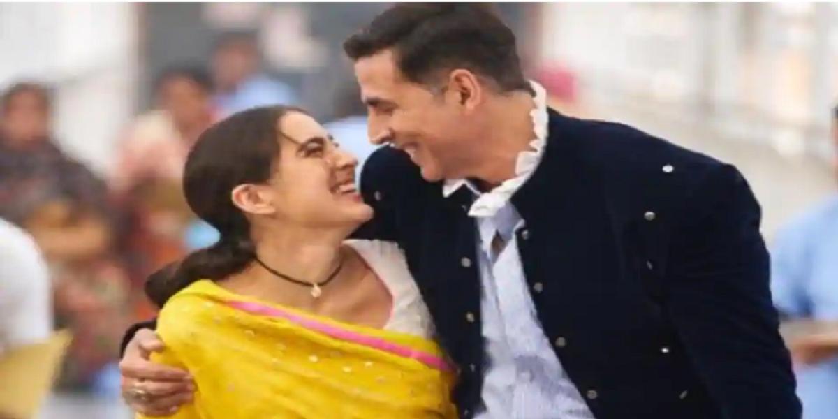 Akshay Kumar Sarah Ali Khan