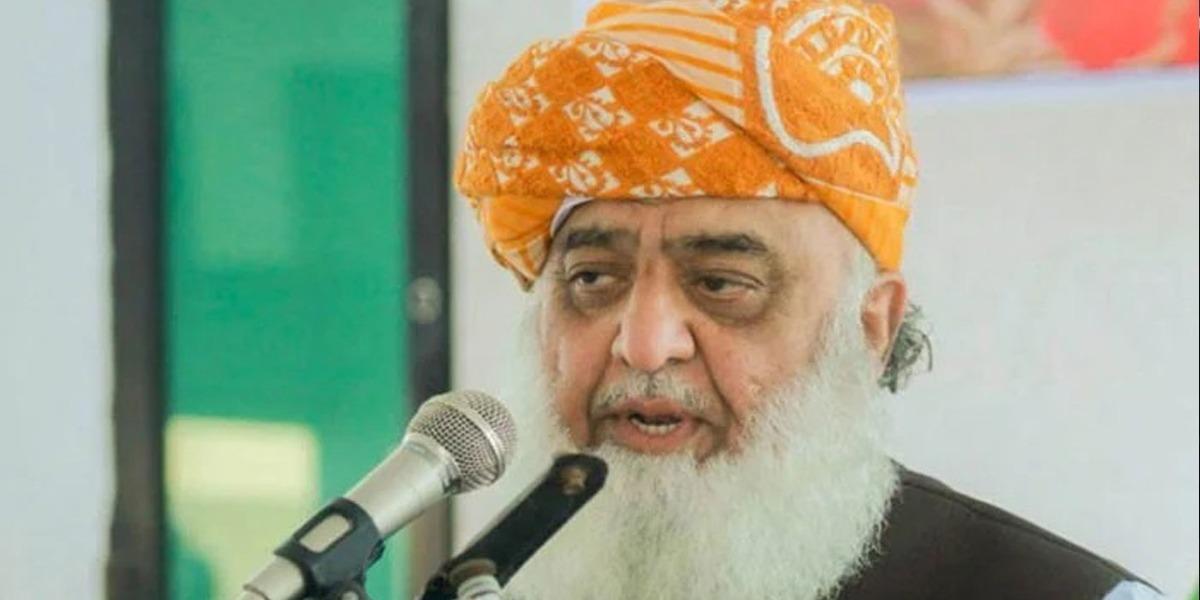 Pakistan's Loyalists Cannot Recognize Israel: Maulana Fazl