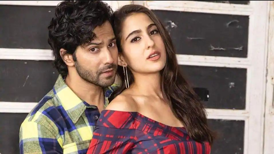 Sara Ali Khan, Varun Dhawan Outfit Change Transition Dance On 'Coolie No 1' Track