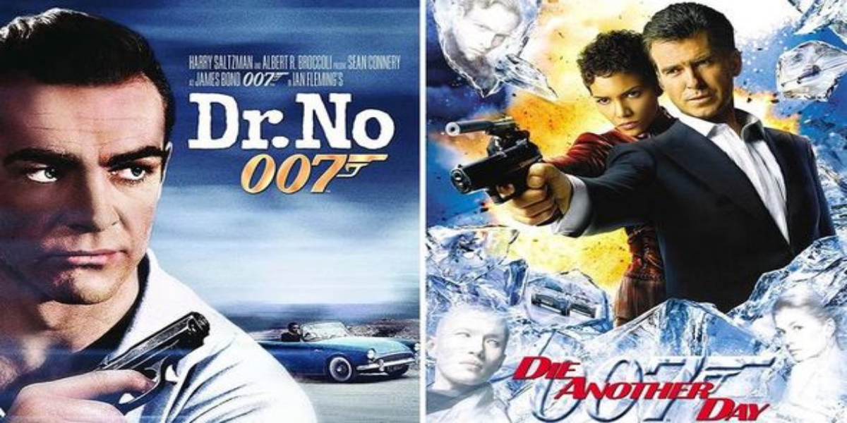 James Bond Series Movies Now Available For Free On YouTube