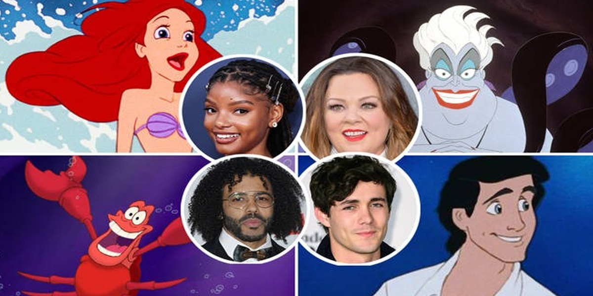 'The Little Mermaid': Disney Reveals Full Cast