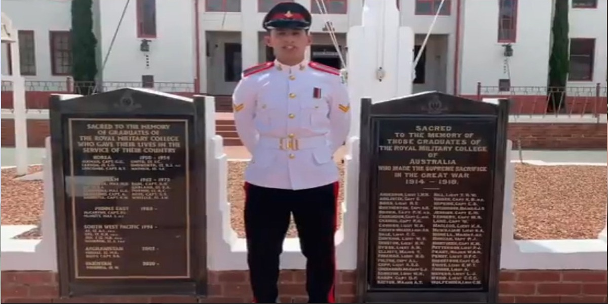 Pakistan Military Cadet Has Become Best Among Overseas At Duntroon