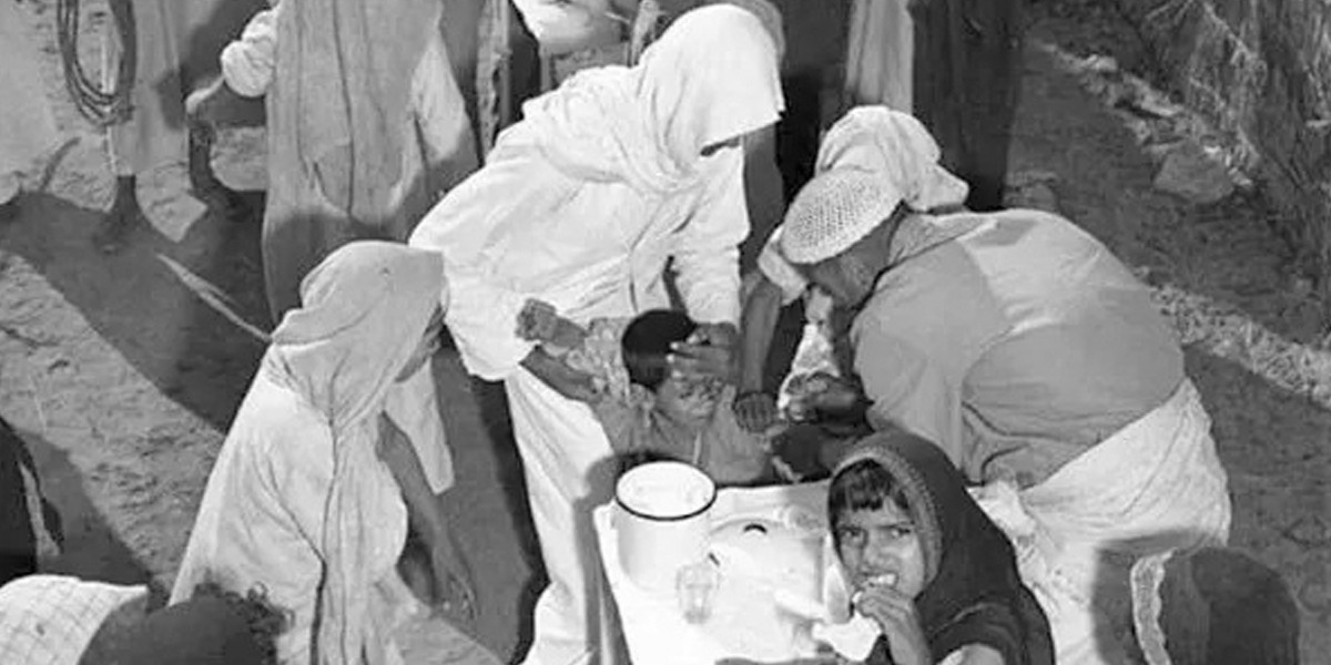 When Was The First Vaccine Used In The History Of Saudi Arabia?
