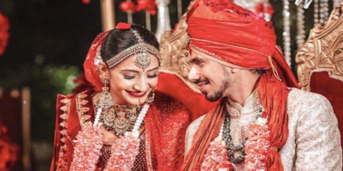Indian Cricketer Yuzvendra Chahal Marries YouTuber Dhanashree Verma