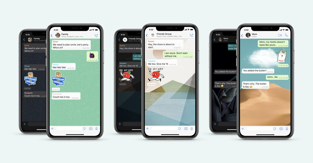 WhatsApp custom wallpaper for each chat
