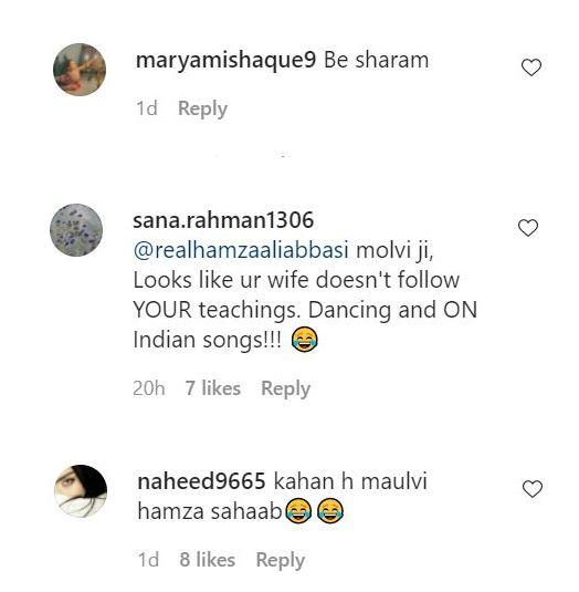 Naimal Khawar criticized