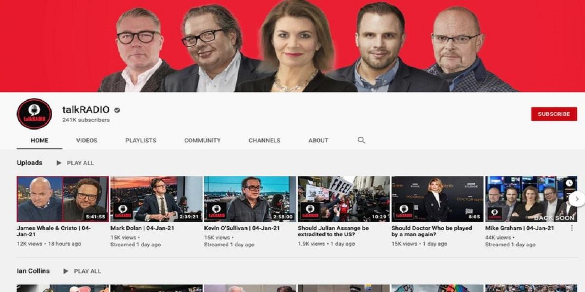 YouTube TalkRadio