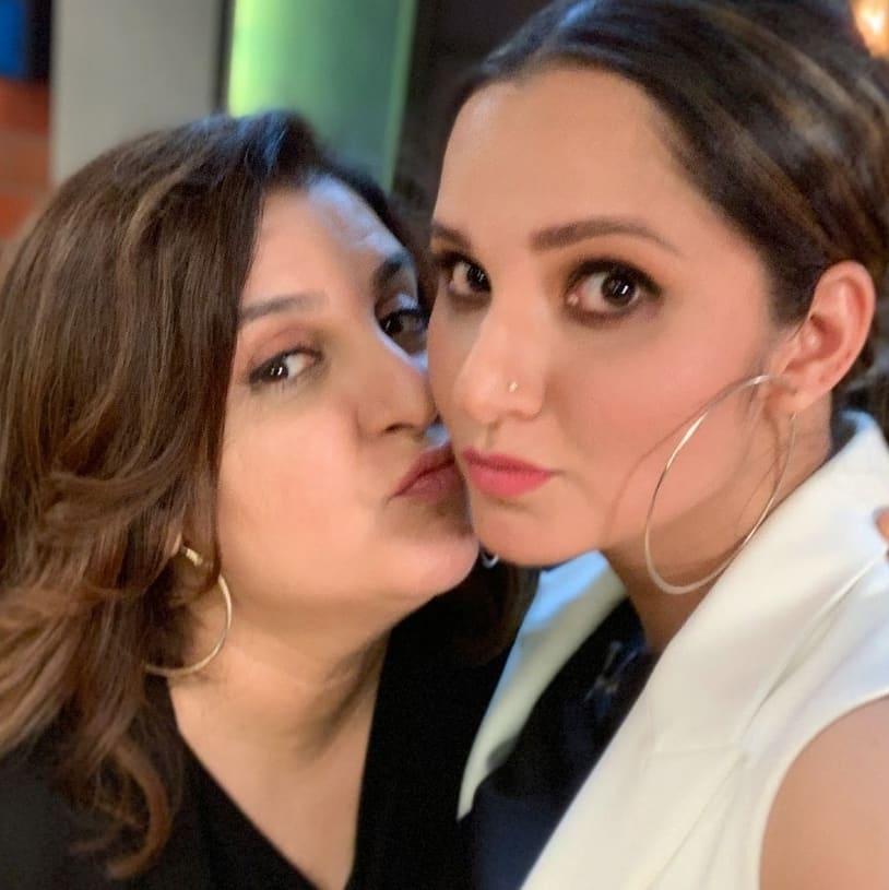 Sania Mirza sends love to bff Farah Khan on her birthday