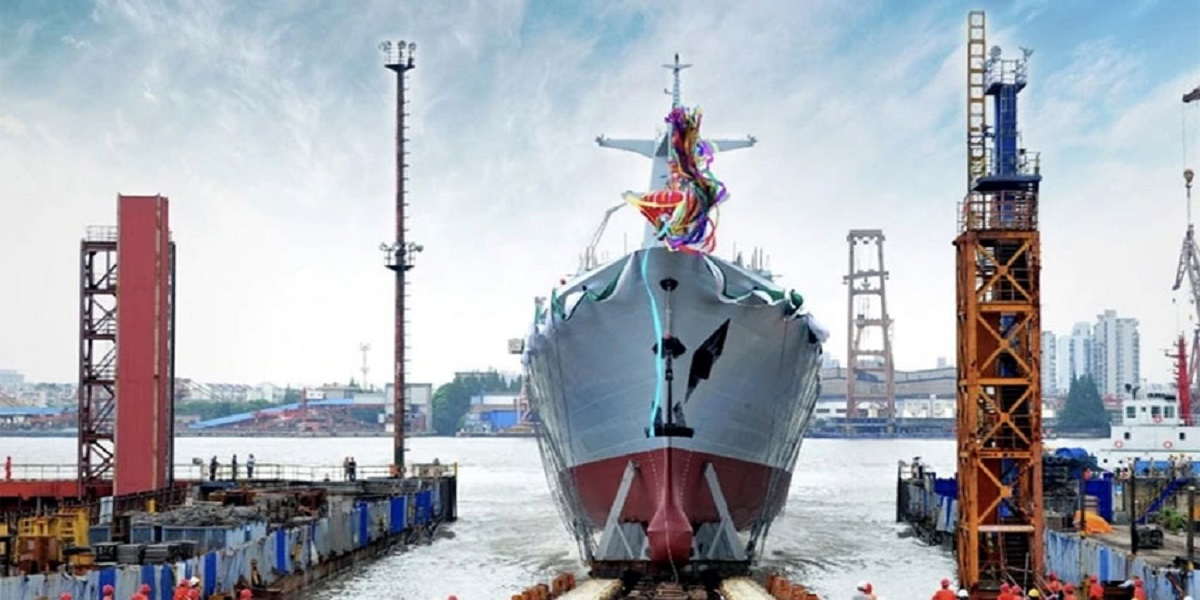 China launches 2nd Type 054A/P frigate for Pakistan Navy