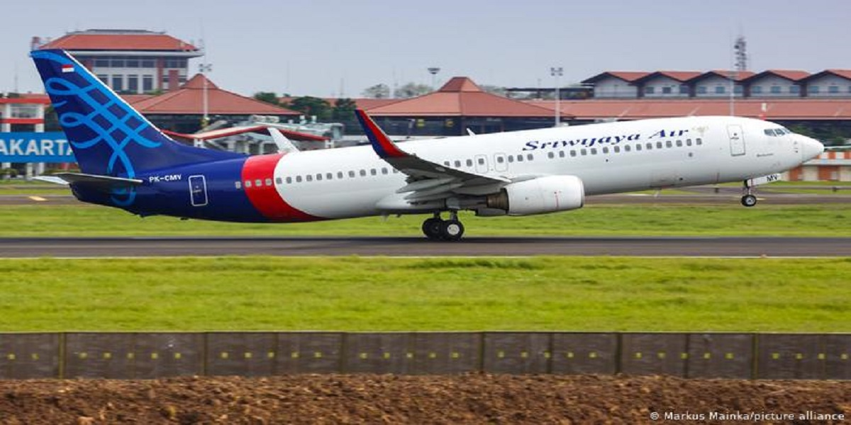 Indonesia Sriwijaya Air plane