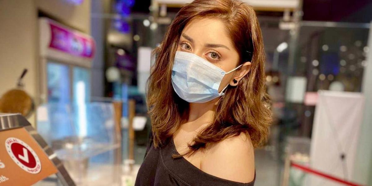 Alizeh Shah off shoulder