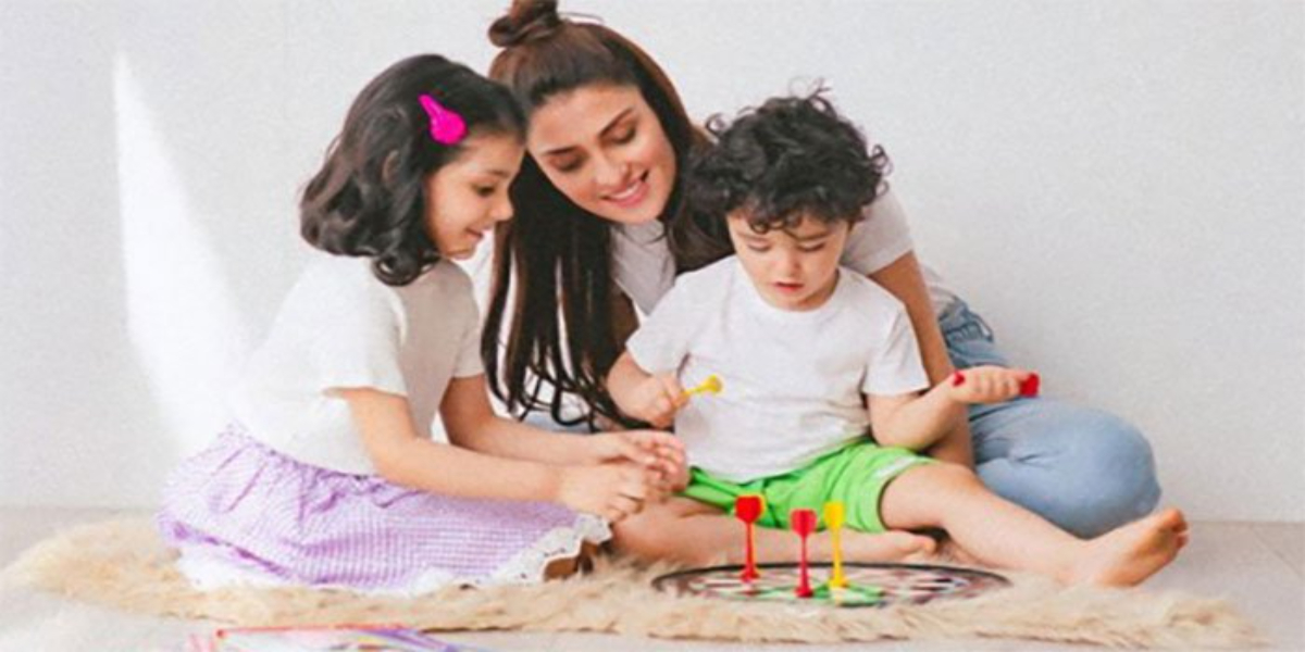 Ayeza Khan kids