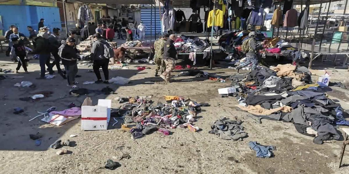 Baghdad twin bombing