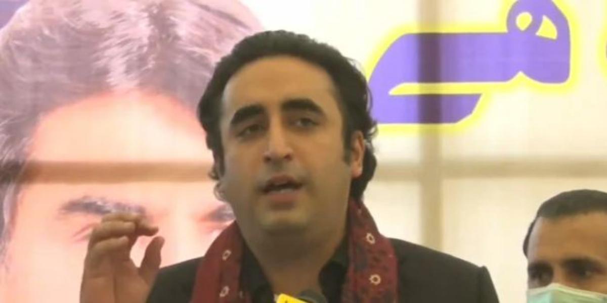 Bilawal Bhutto at Sukkur