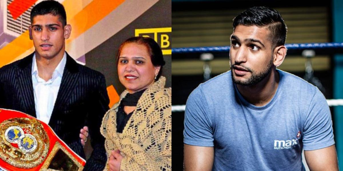 Boxer Amir Khan mother has pancreatic cancer