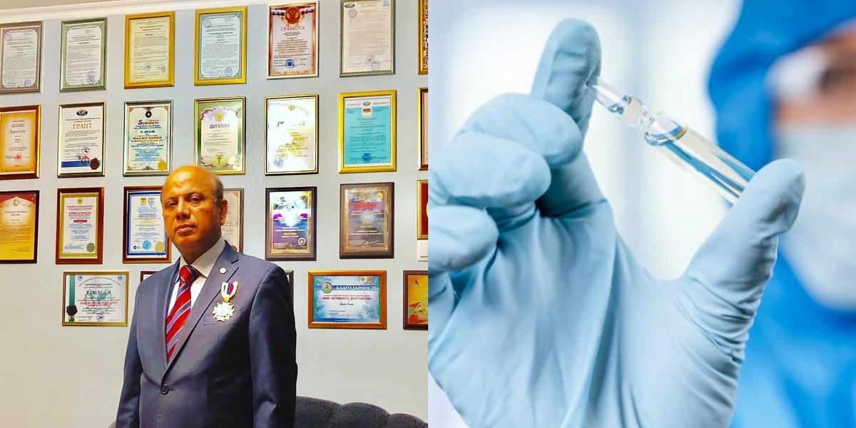 Pakistani Russian scientist Covid-19 vaccine