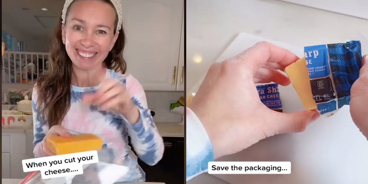 Woman shares hack to keep cheese fresh