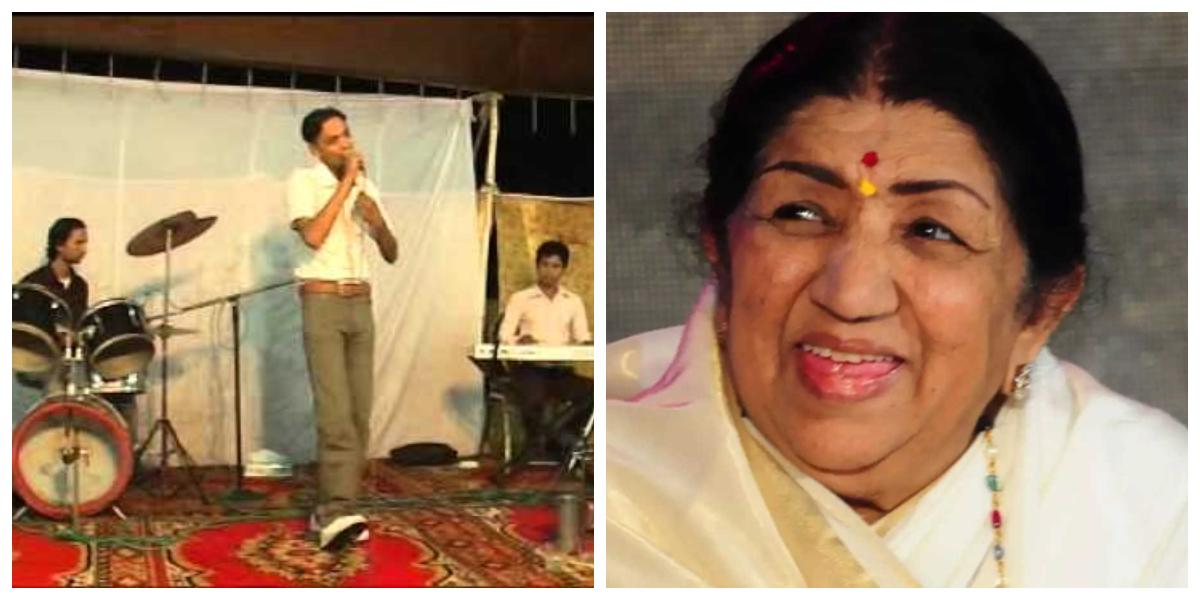 Lata Mangeshkar's voice