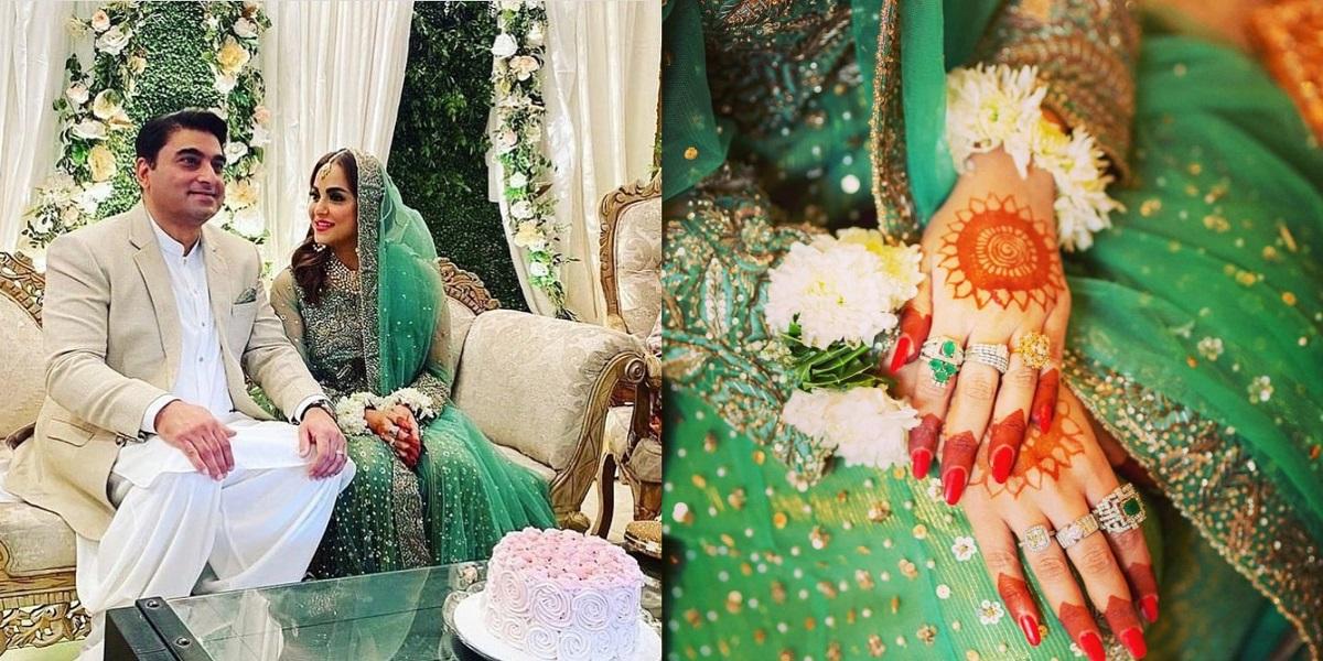 Nadia Khan marriage photos