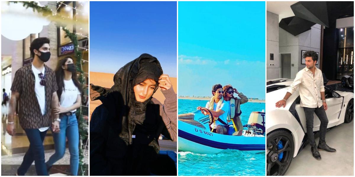 Sajal Aly and Ahad Raza Mir