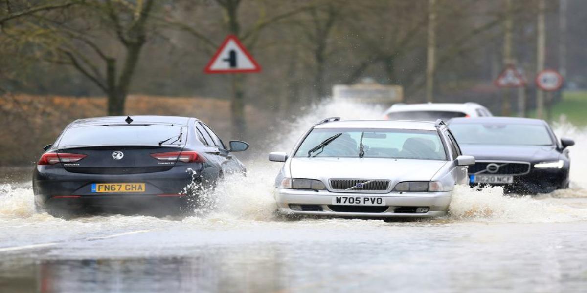 UK heavy rain