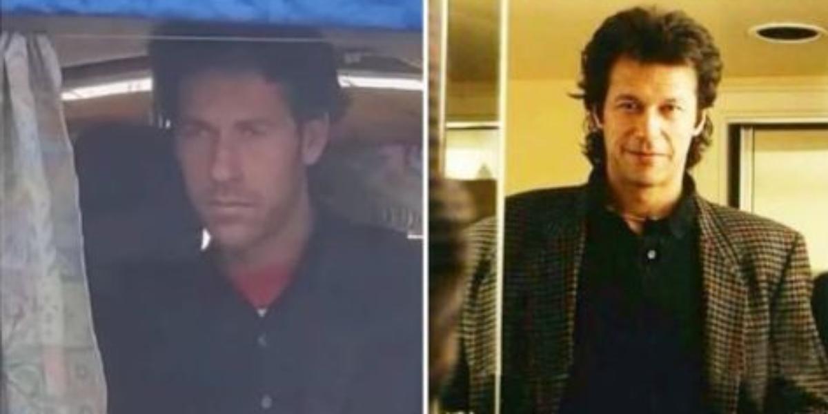 Imran Khan doppelganger in Sialkot