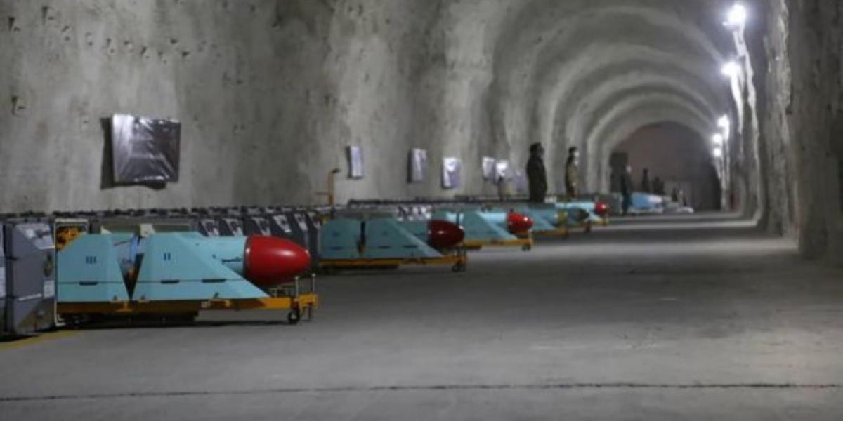 Iran underground missile base