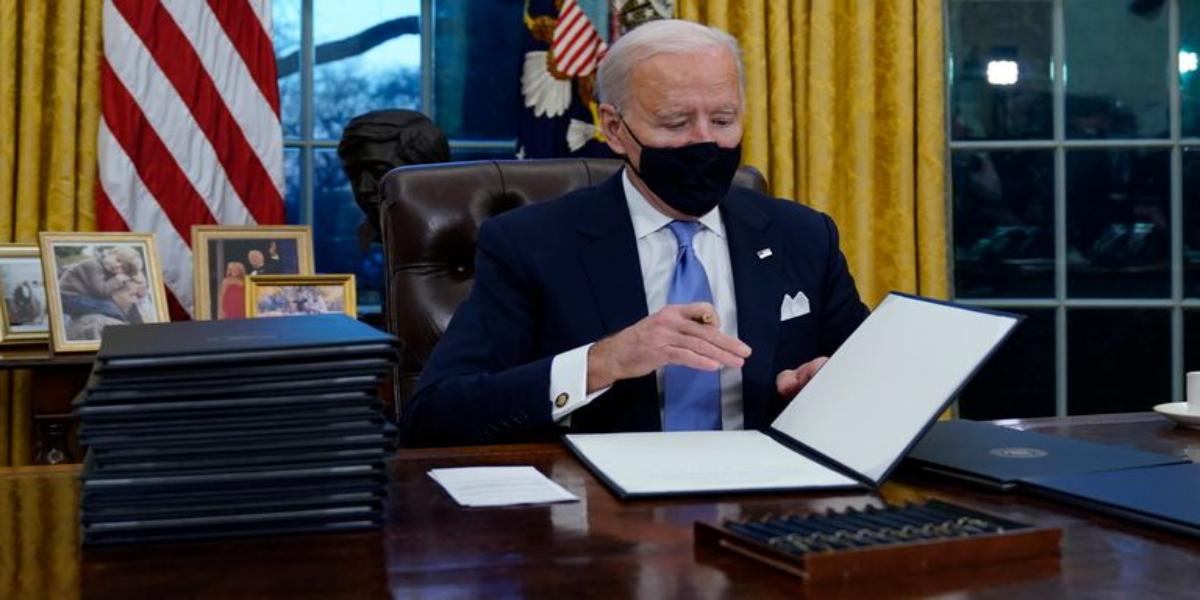 Joe Biden to sign executive orders