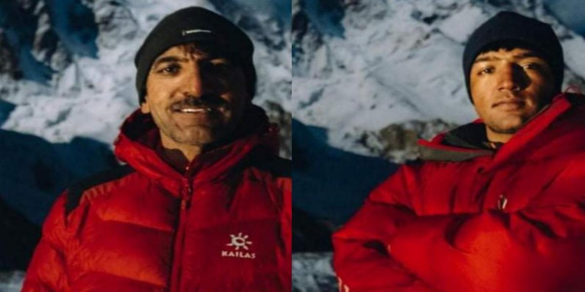 Sadpara K2 climbing