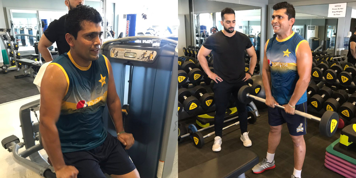 Kamran Akmal redefines fitness goals in new workout video