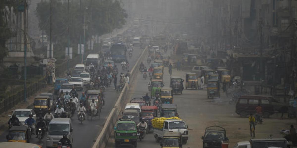 Karachi pollution