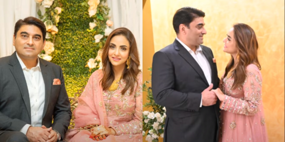 Nadia Khan reception photo