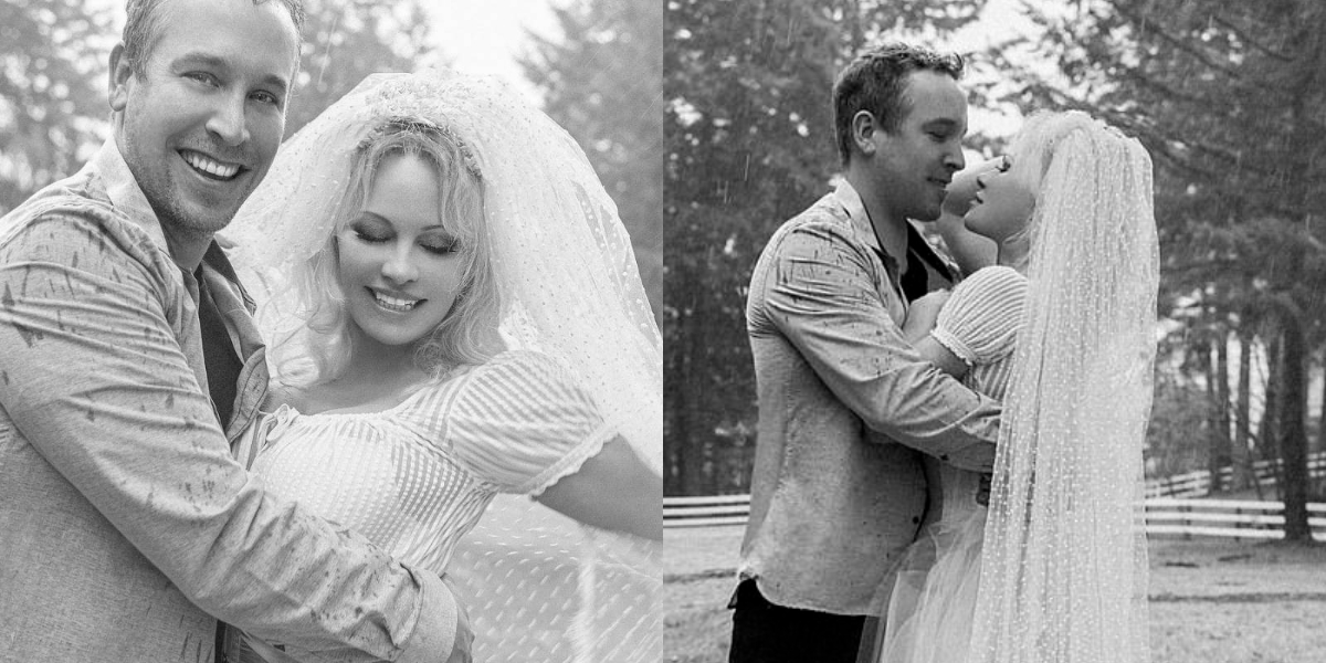 Pamela Anderson fourth marriage