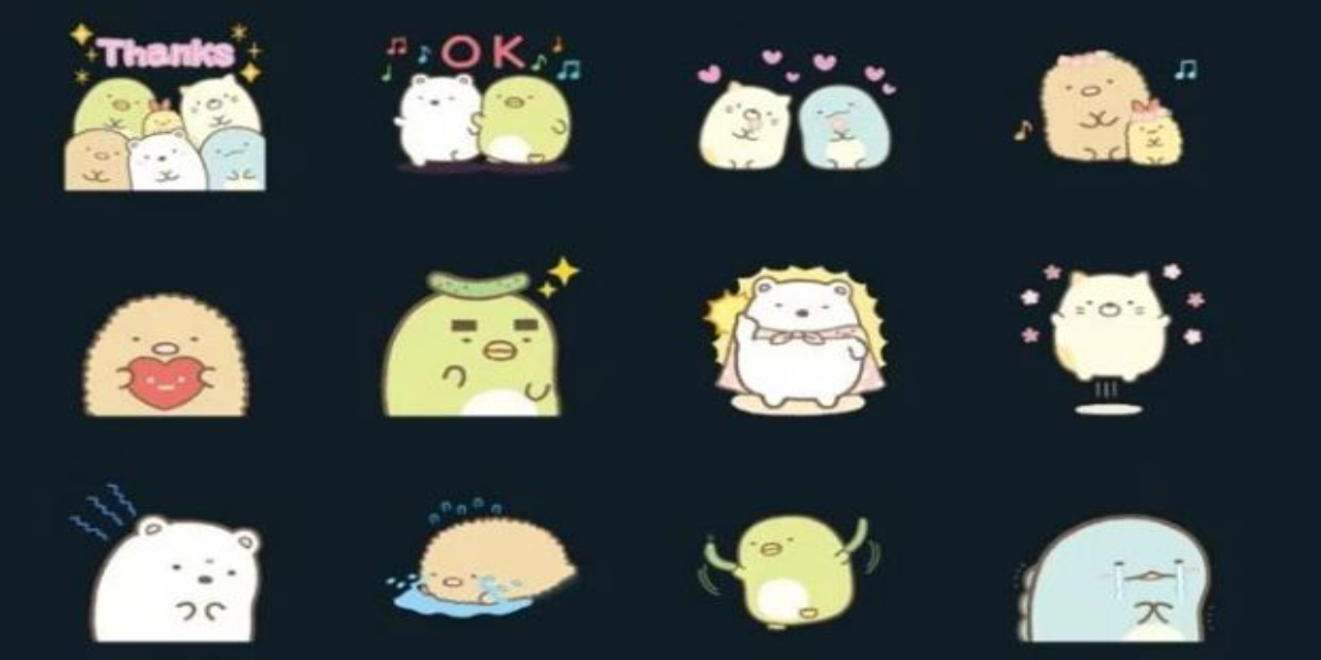 Sumikkogurashi new sticker pack