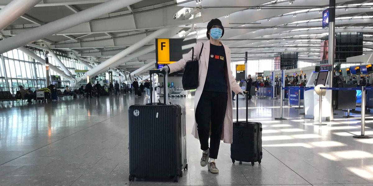 UK pre-departure covid test