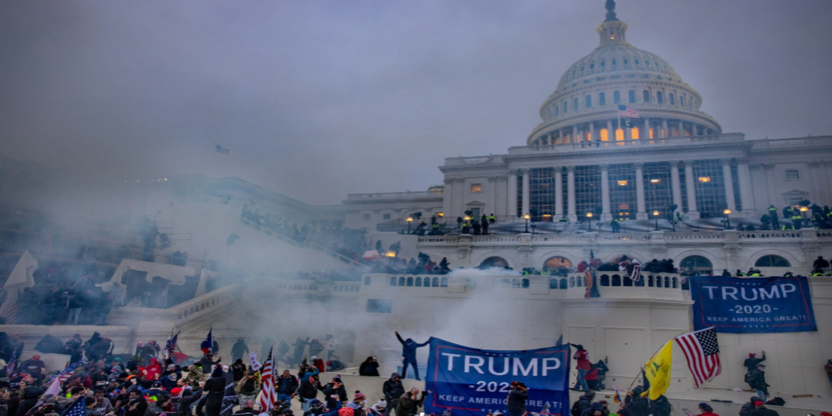 US Capitol protest