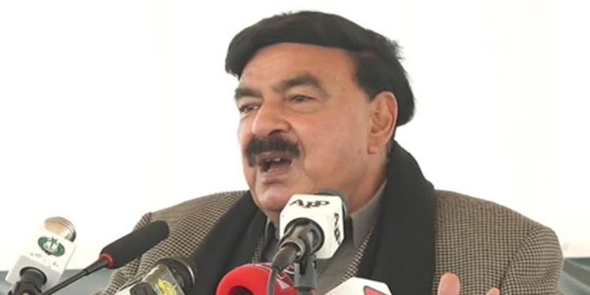 PDM protest Sheikh Rasheed