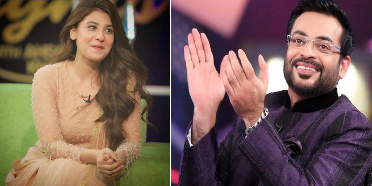 Hina Altaf Aamir Liaquat mimicry